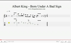 albert king born under a bad sign intro