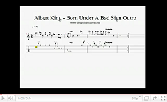 albert king born under a bad sign outro