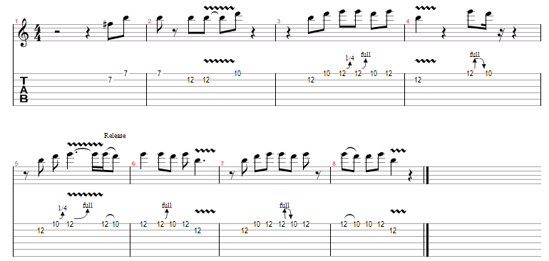 Blues Guitar Riffs - BB King