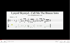 lynyrd skynyrd call me the breeze intro video