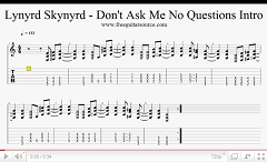 lynyrd skynyrd dont ask me no questions intro video