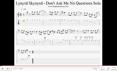 lynyrd skynyrd dont ask me no questions solo video